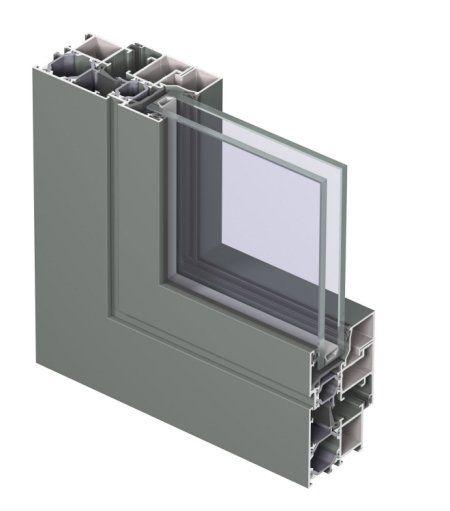 Franchi aberturas l nea cl sica for Perfiles de aluminio para toldos de palilleria